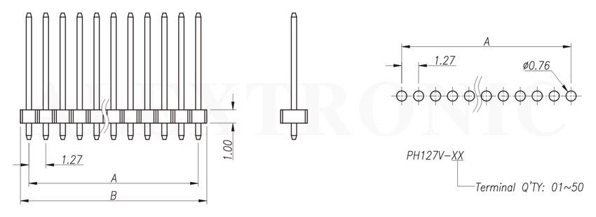 pin header socket - alextronic