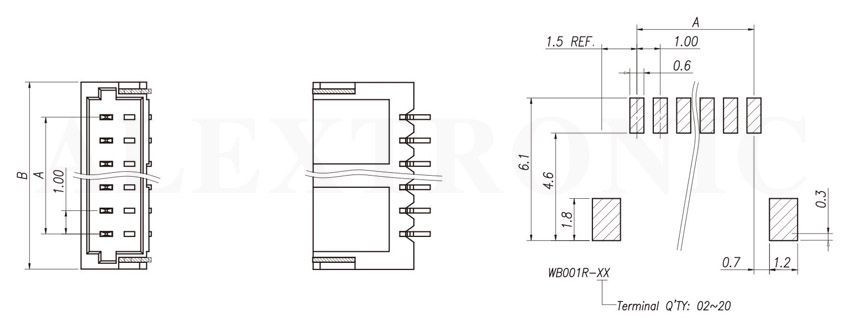 wafer socket - alextronic